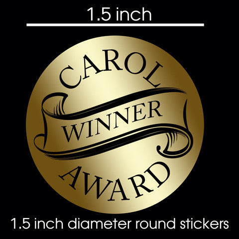 "Round Promotional Stickers 1.5"" / 300ct"