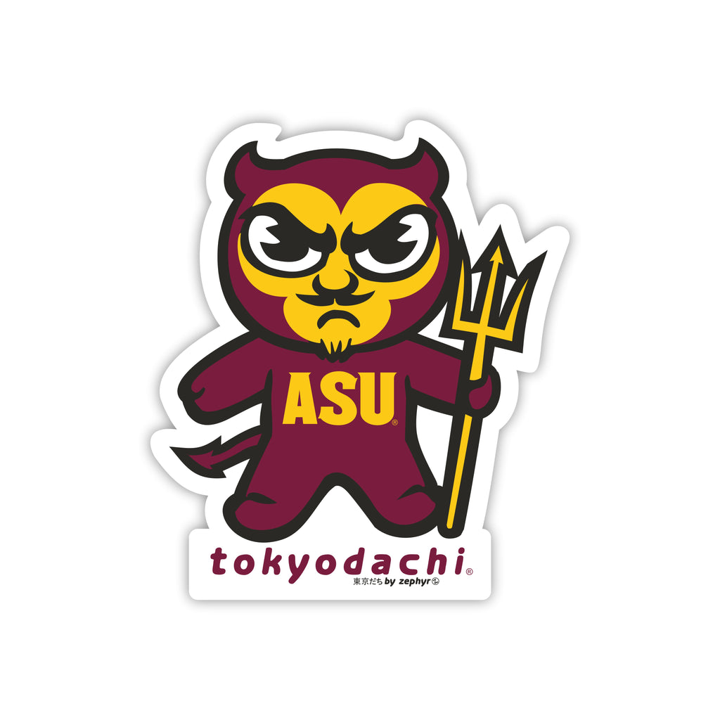 Arizona State (ASU) Tokyodachi Sticker