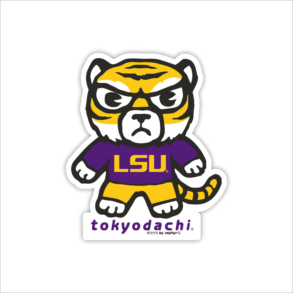 LSU Tokyodachi Sticker