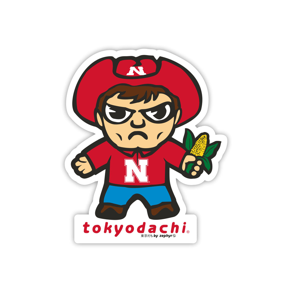 Nebraska Tokyodachi Sticker