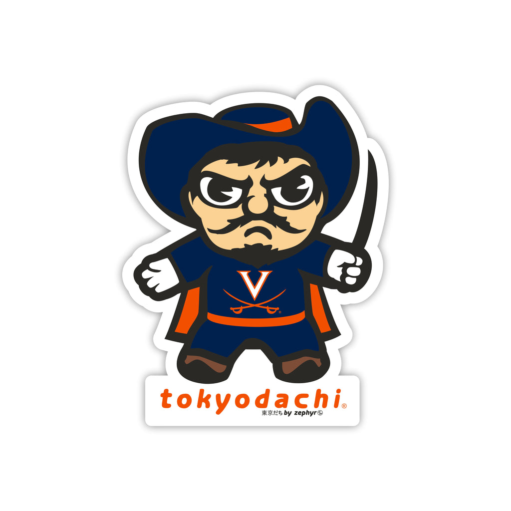 Virginia Tokyodachi Sticker