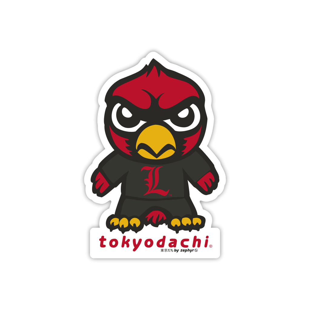 Louisville Tokyodachi Sticker