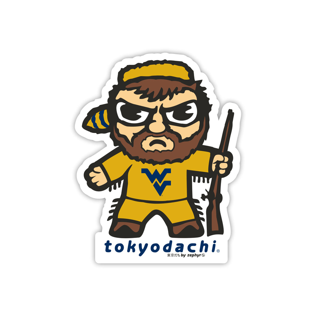 West Virginia Tokyodachi Sticker