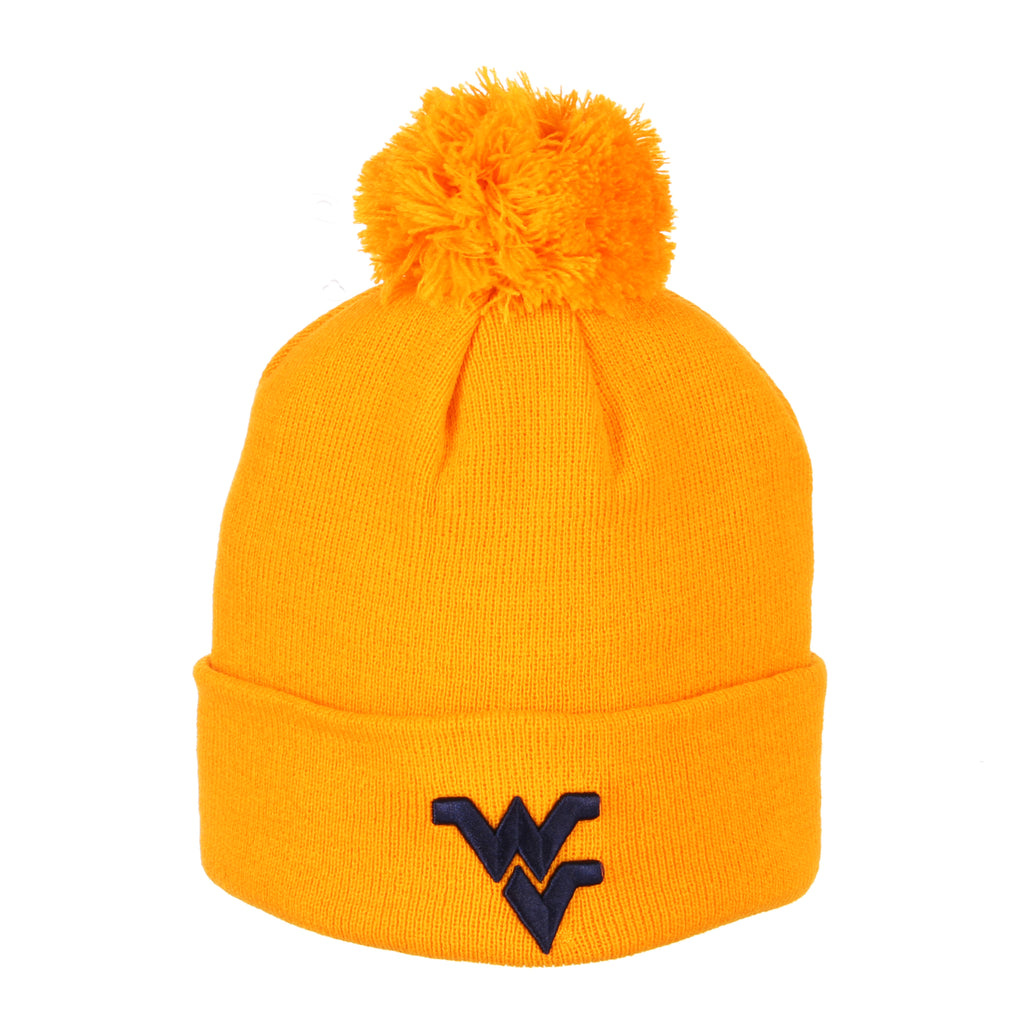 West Virginia Pom Knit