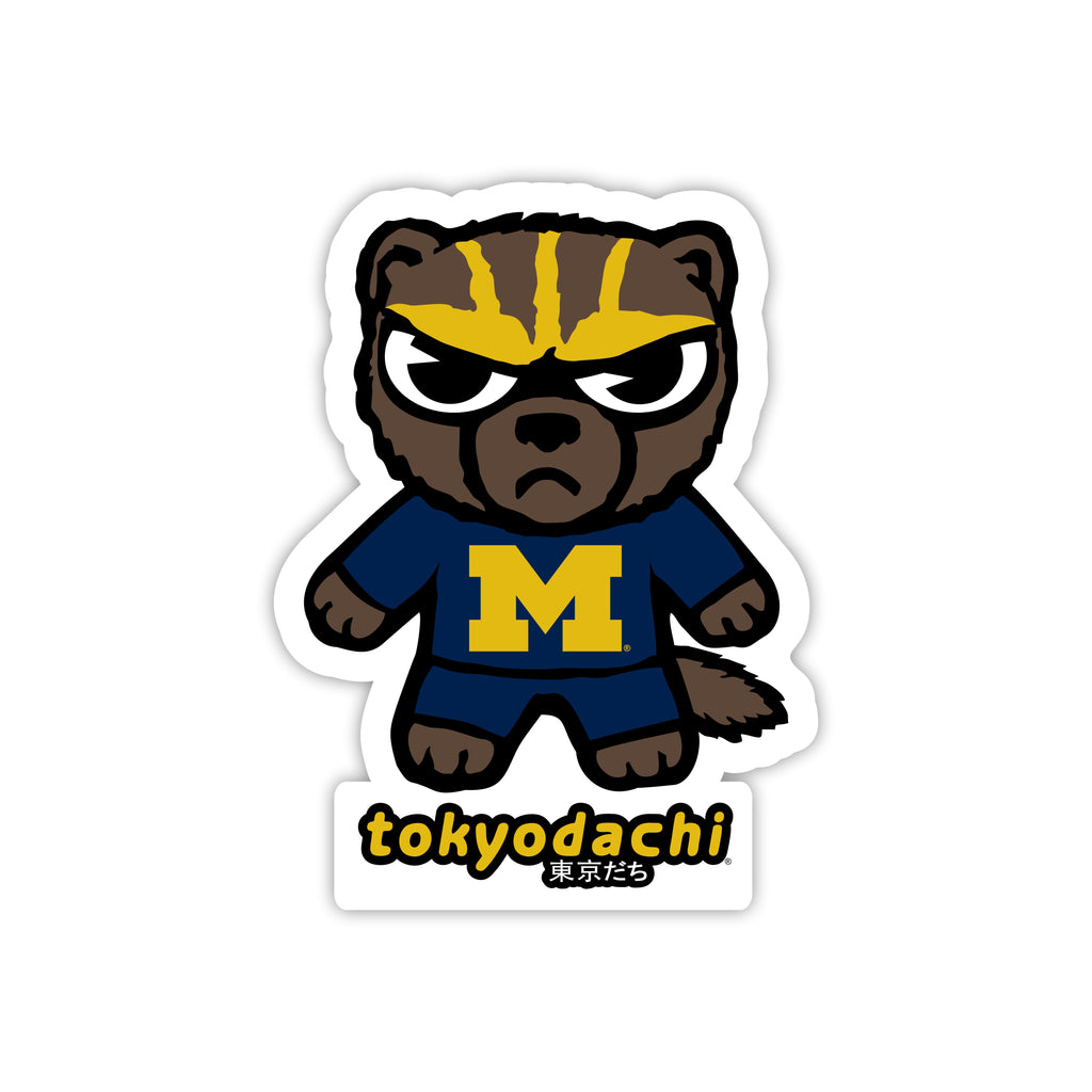 Michigan Tokyodachi Sticker