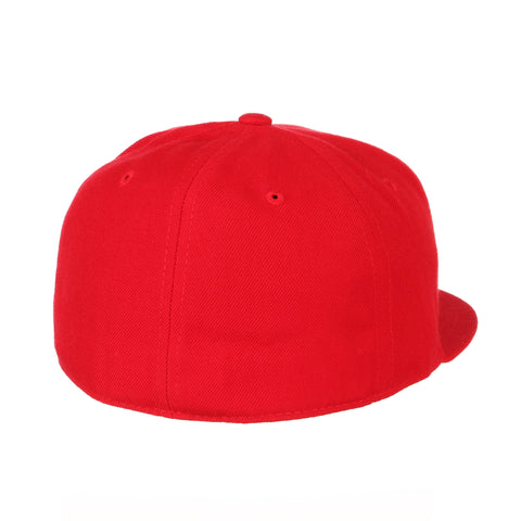 Blank Red Fitted