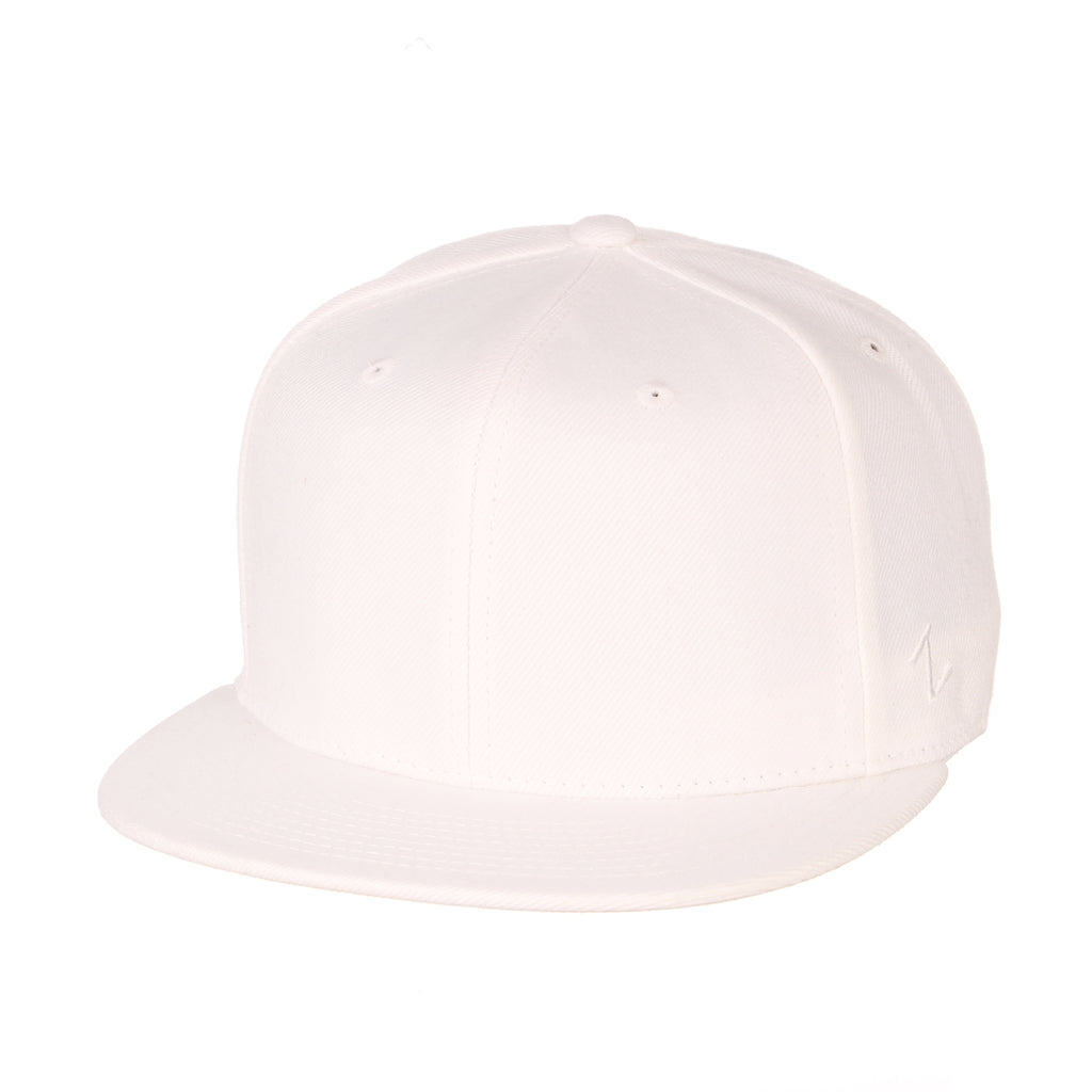 Blank White Fitted