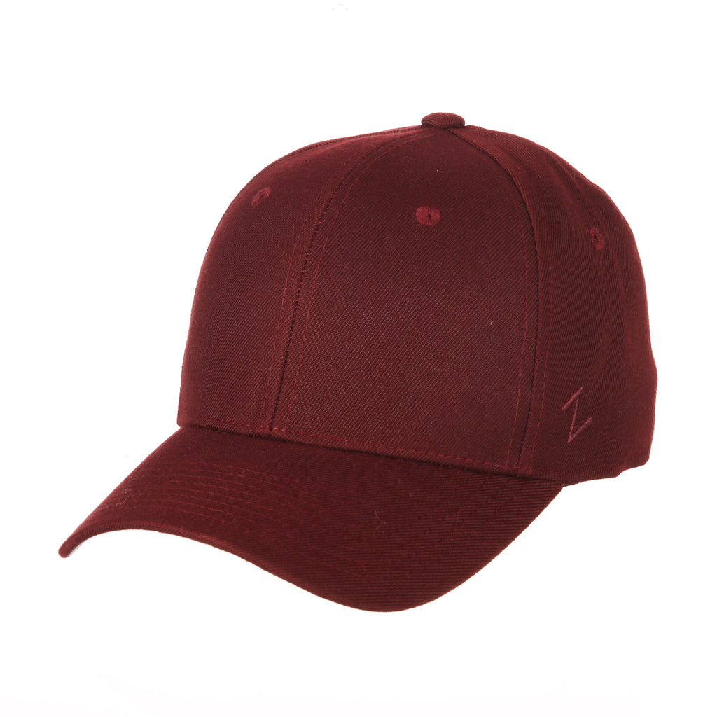Blank Maroon DH Fitted