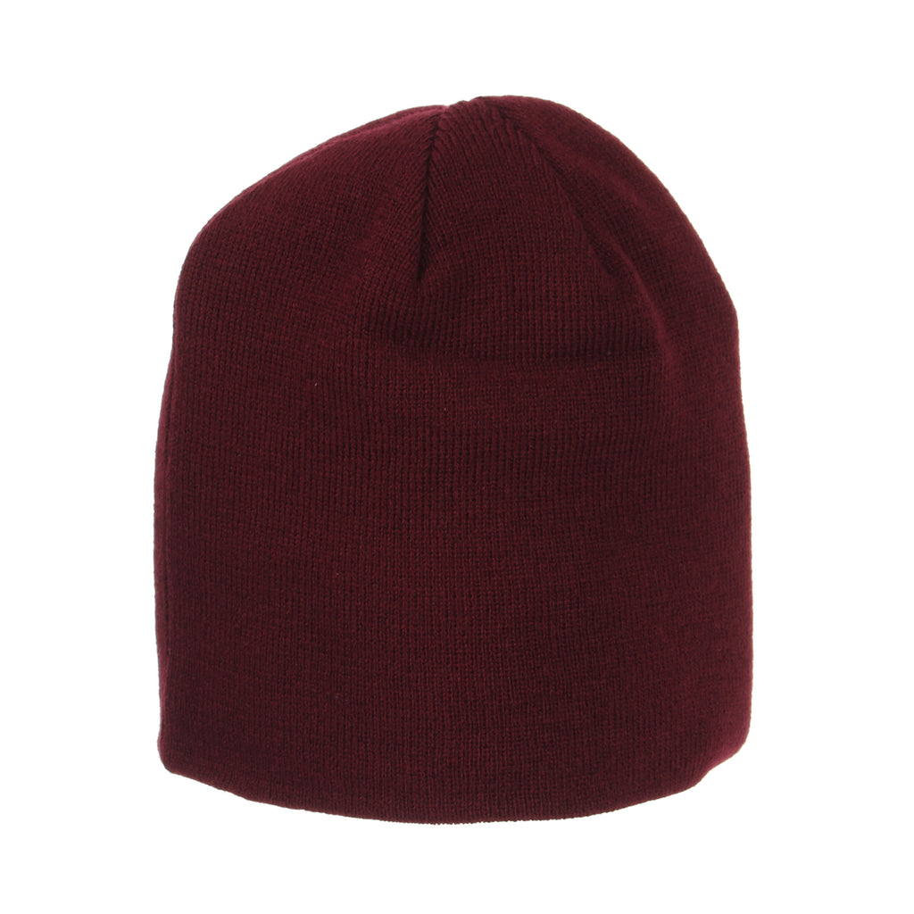 Blank Maroon Edge Knit