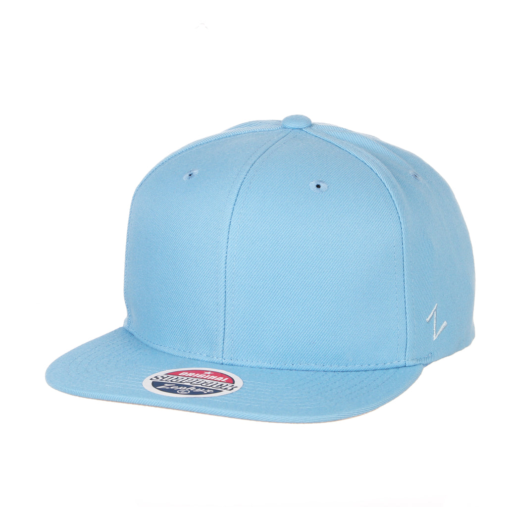 Blank Light Blue Snapback