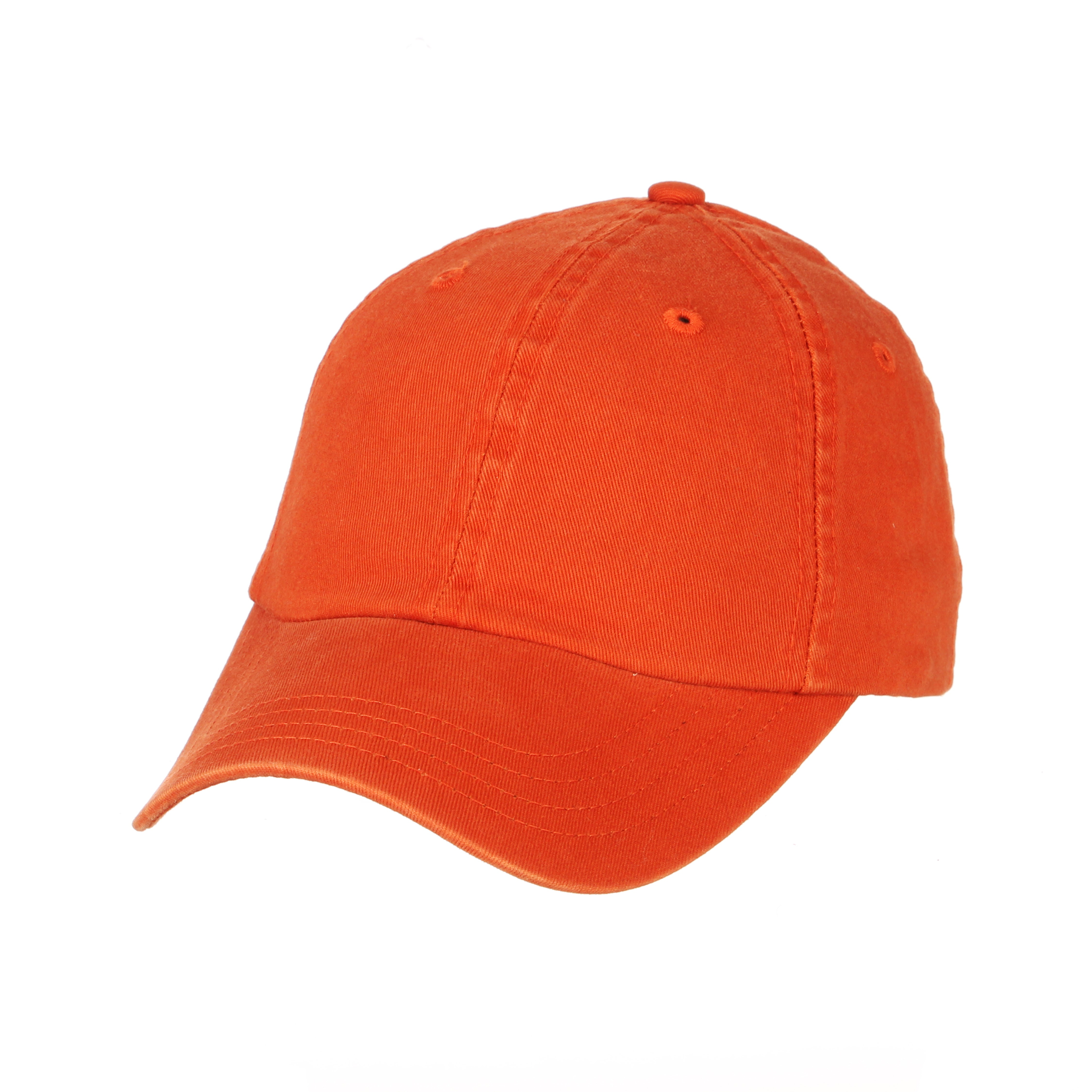 Blank Burnt Orange Dad Washed