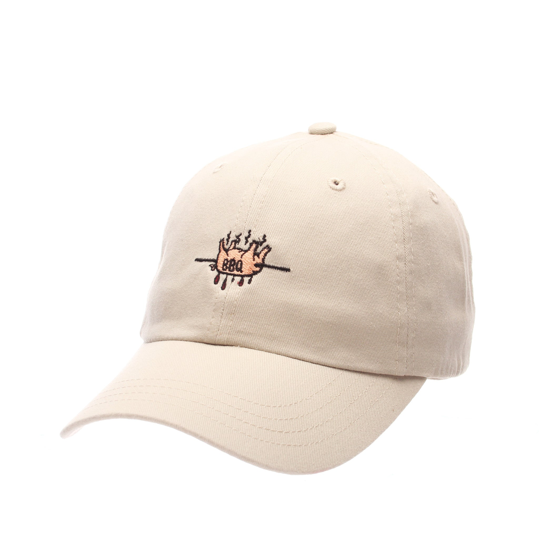 Dad Hat (BBQ PIG) Stone Washed Adjustable hats by Zephyr