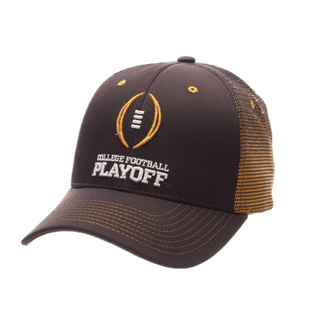 College Football Playoffs Program Custom Standard (Low) (FOOTBALL/COLLEGE FOOTBALL/PLAYOFF) Gray Confederate Tactel Zfit Adjustable hats by Zephyr