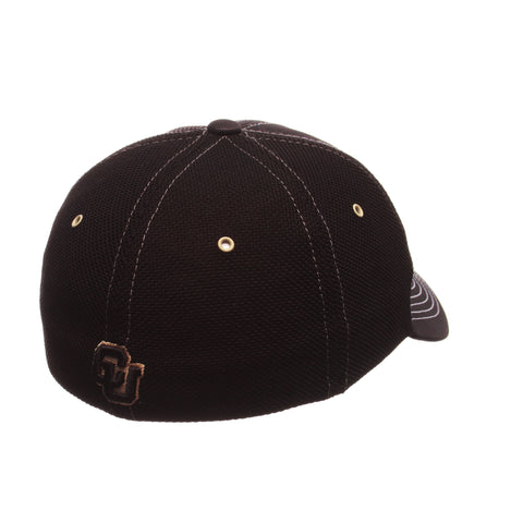 Colorado (Boulder) Black Friday Slant Standard (Low) (CU W/BUFFALO) Varied Colors Varied Panels Stretch Fit hats by Zephyr