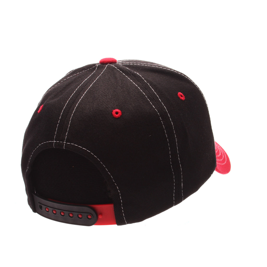 Cornell University Staple (C) Black Zwool Adjustable hats by Zephyr