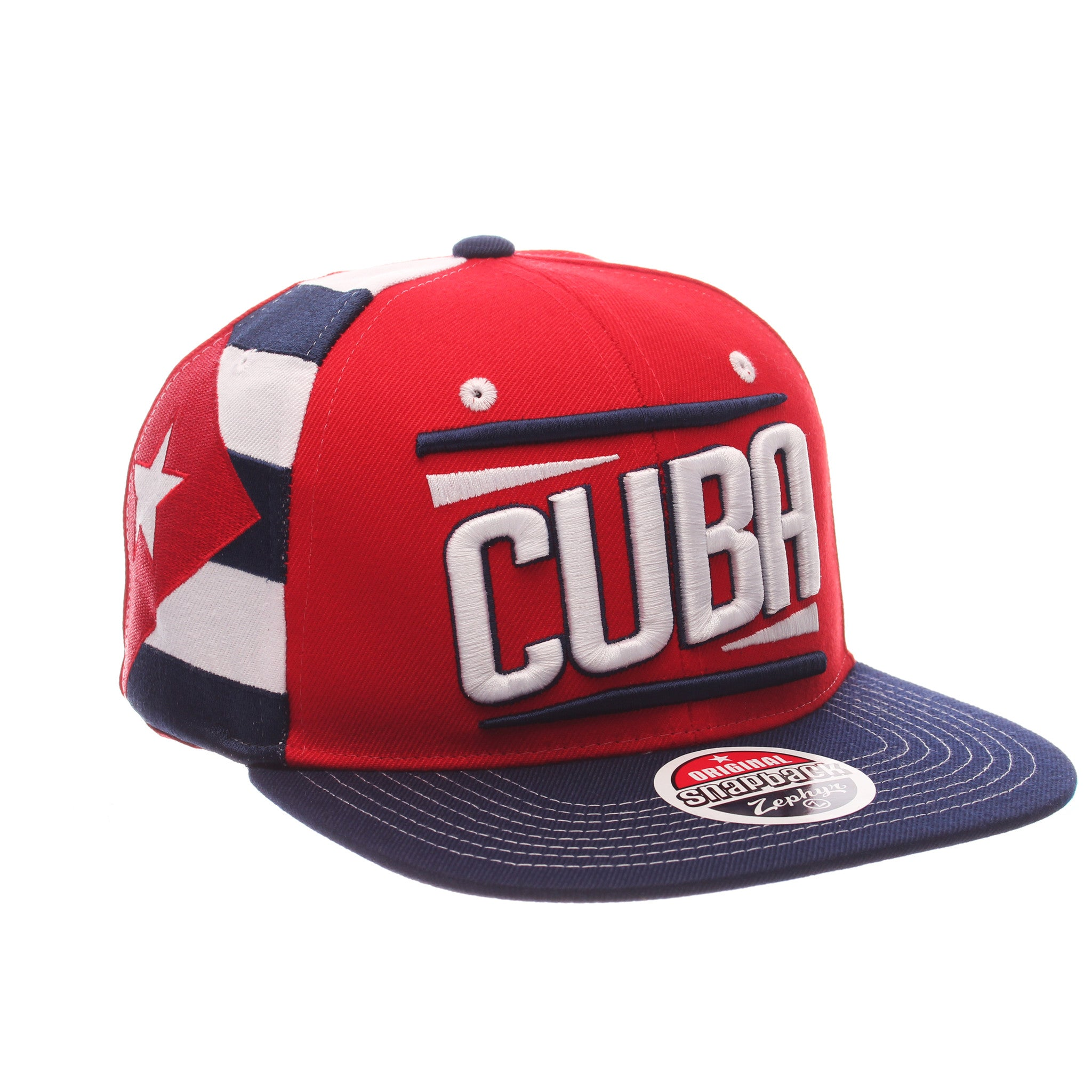 COUNTRY Victory 32/5 (High) (CUBA W/LINES) Varied Colors Varied Panels Adjustable hats by Zephyr