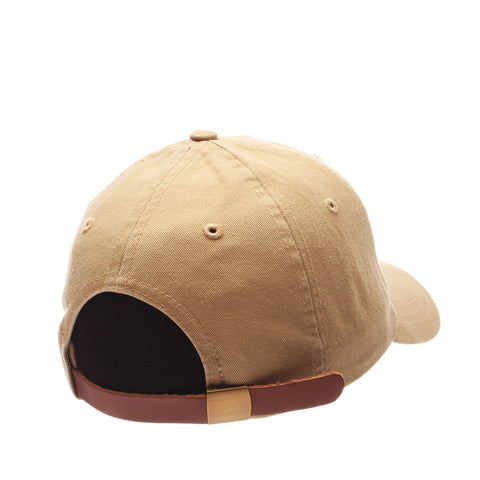 Dad Hat (DRUMSTICK) Khaki Washed Adjustable hats by Zephyr
