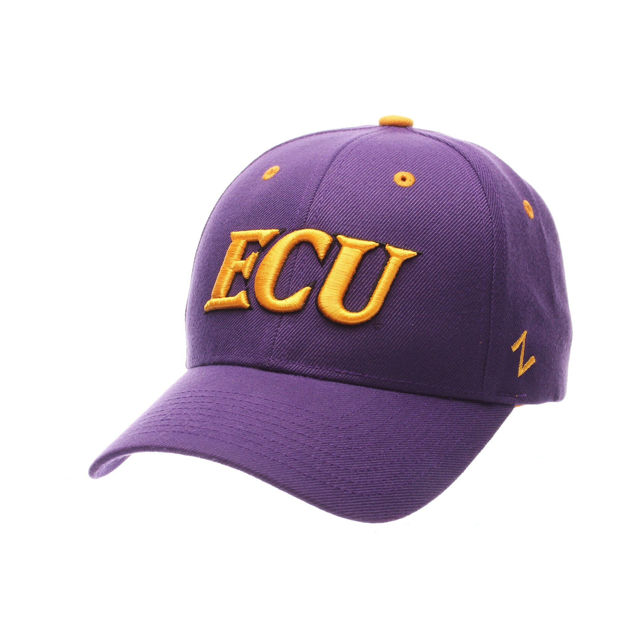 East Carolina University Competitor Standard (Low) (ECU) Purple Zwool Adjustable hats by Zephyr