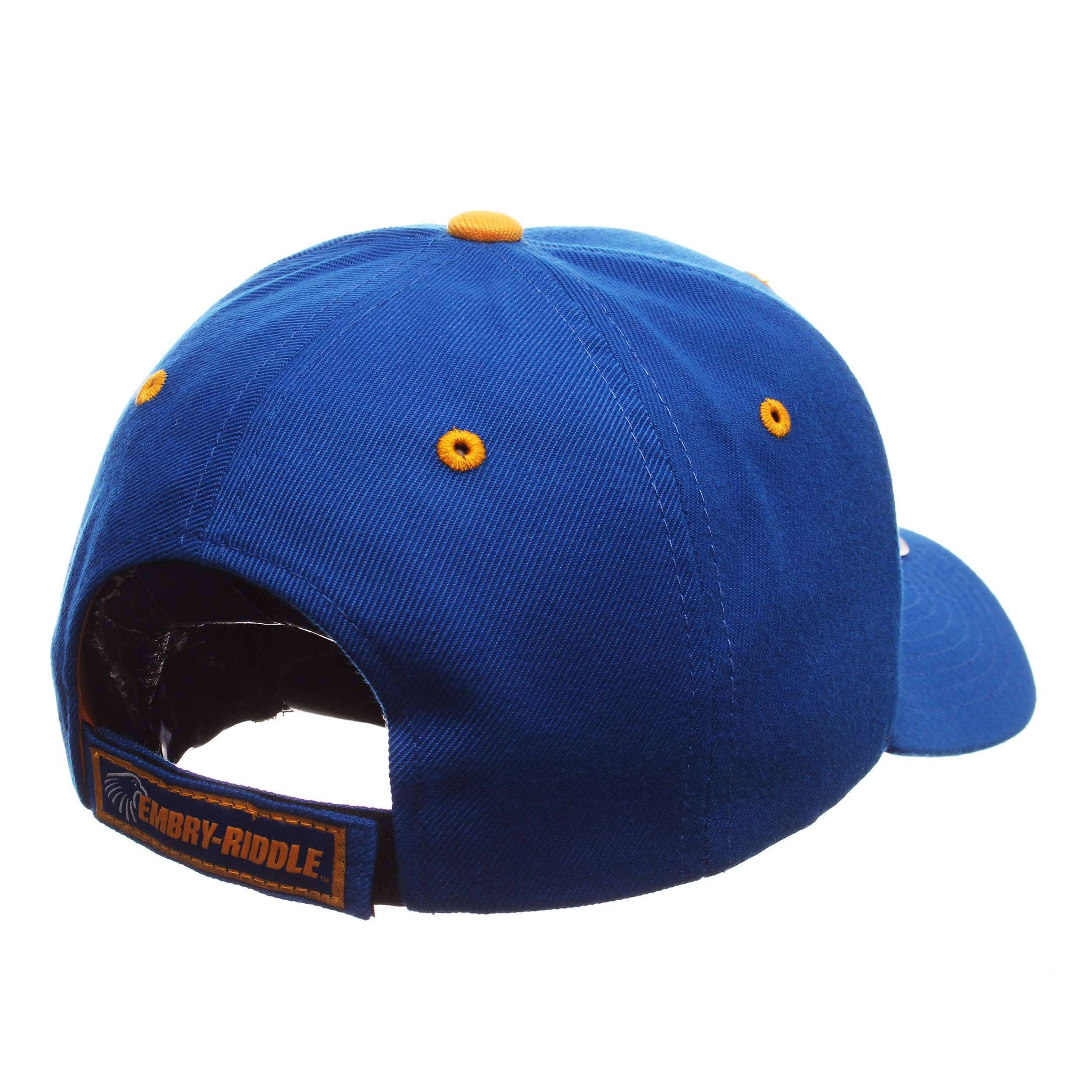 Embry Riddle Aeronautical University (Daytona) Competitor Standard (Low) (ER) Royal Surf Zwool Adjustable hats by Zephyr