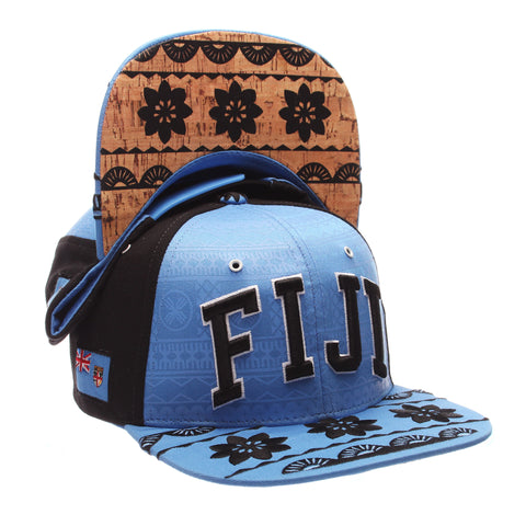 COUNTRY Custom 32/5 (High) (FIJI/ PATTERN) Varied Colors Varied Panels Adjustable hats by Zephyr
