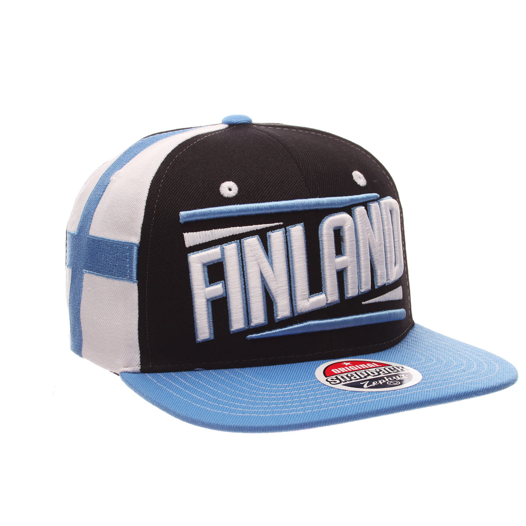 COUNTRY Victory 32/5 (High) (FINLAND W/LINES) Varied Colors Varied Panels Adjustable hats by Zephyr