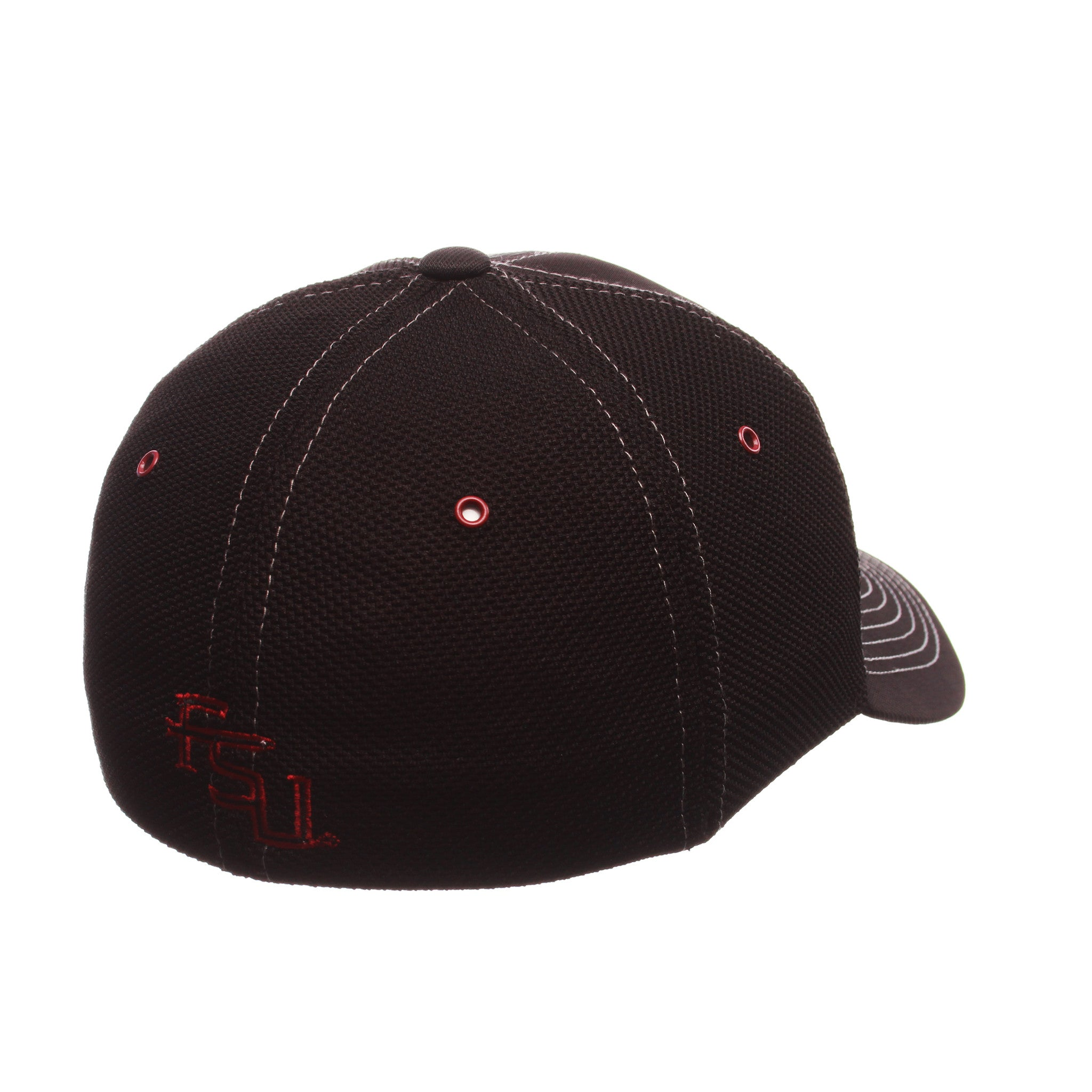 Florida State University Black Friday Slant Standard (Low) (SEMINOLE) Varied Colors Varied Panels Stretch Fit hats by Zephyr