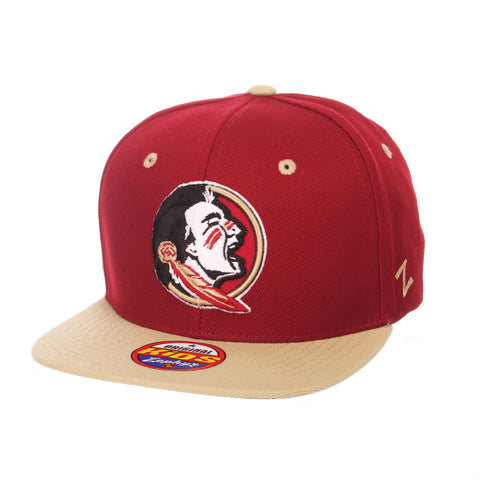 Florida State University Z11 Youth 32/5 Youth (SEMINOLE) Cardinal ZClassic Adjustable hats by Zephyr