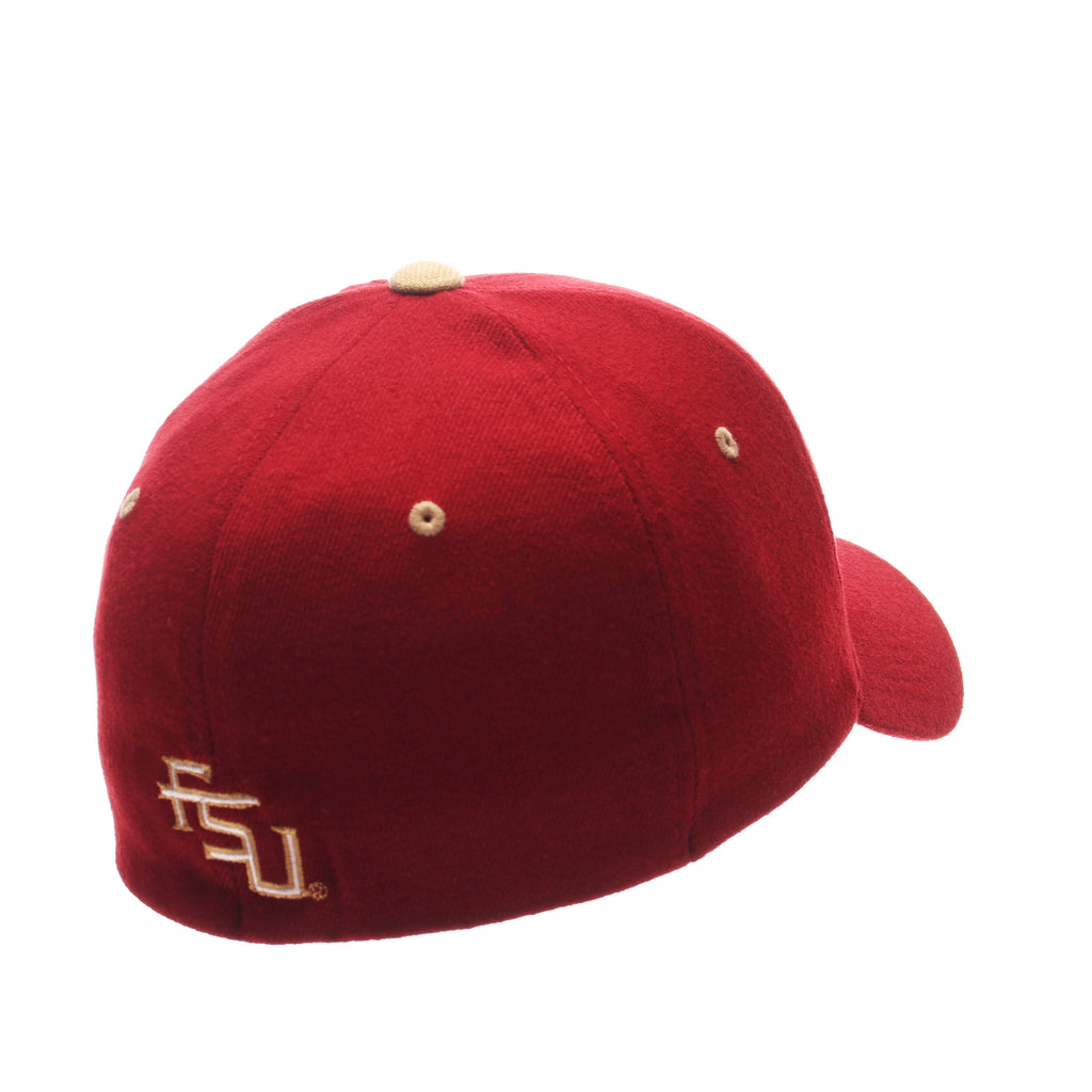 Florida State University ZHS Standard (Low) (SEMINOLE) Cardinal Zwool Stretch Fit hats by Zephyr