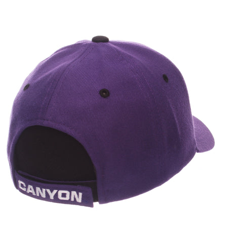Grand Canyon University Competitor Standard (Low) (ANTELOPE/LOPES) Purple Zwool Adjustable hats by Zephyr
