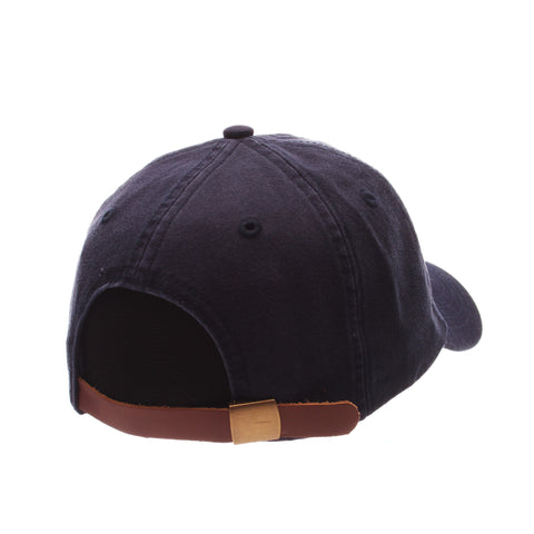 No Royalties Dad Hat (GRILL) Navy Dark Washed Adjustable hats by Zephyr