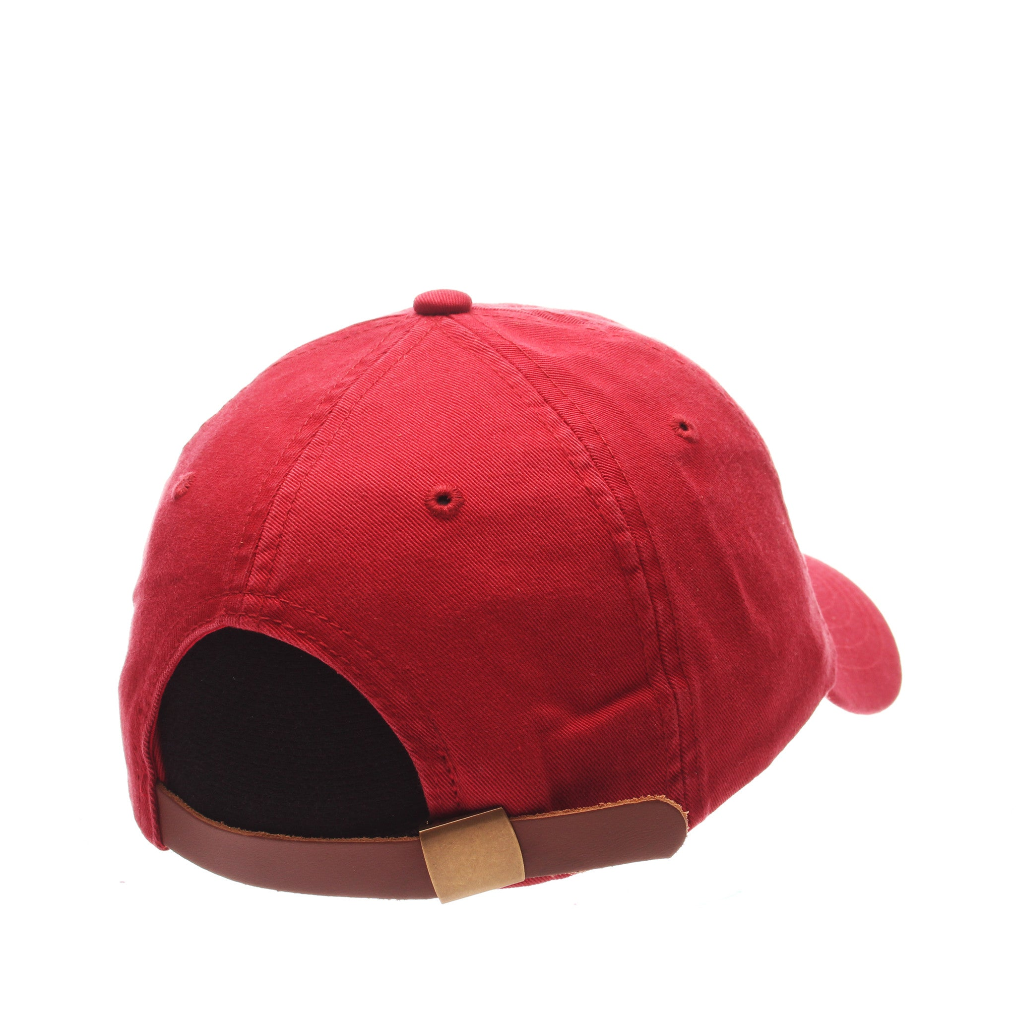 Dad Hat (HULA DANCER) Red Washed Adjustable hats by Zephyr