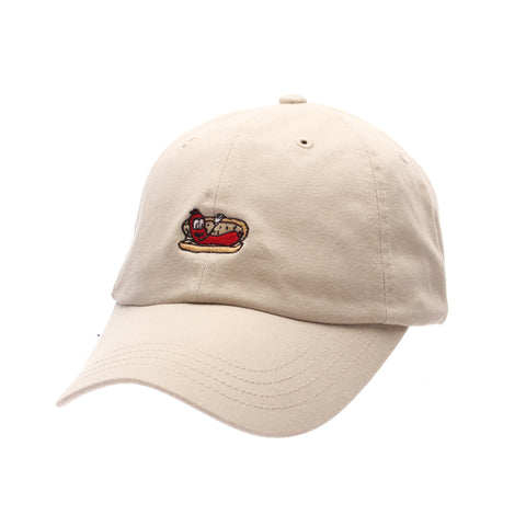 Dad Hat (HOT DOG) Stone Washed Adjustable hats by Zephyr