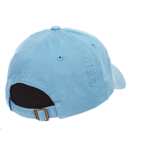Dad Hat (ICE CREAM CONE) Blue Light Washed Adjustable hats by Zephyr e6a84b0742dc