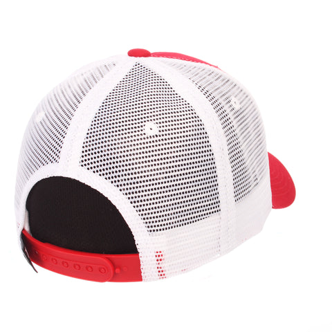 Illinois State University Big Rig (REDBIRD W/ILLINOIS STATE) Red 100% Cotton Twill Adjustable hats by Zephyr