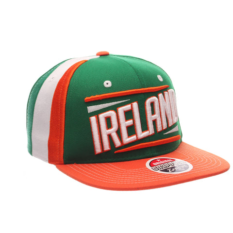 COUNTRY Victory 32/5 (High) (IRELAND W/LINES) Varied Colors Varied Panels Adjustable hats by Zephyr