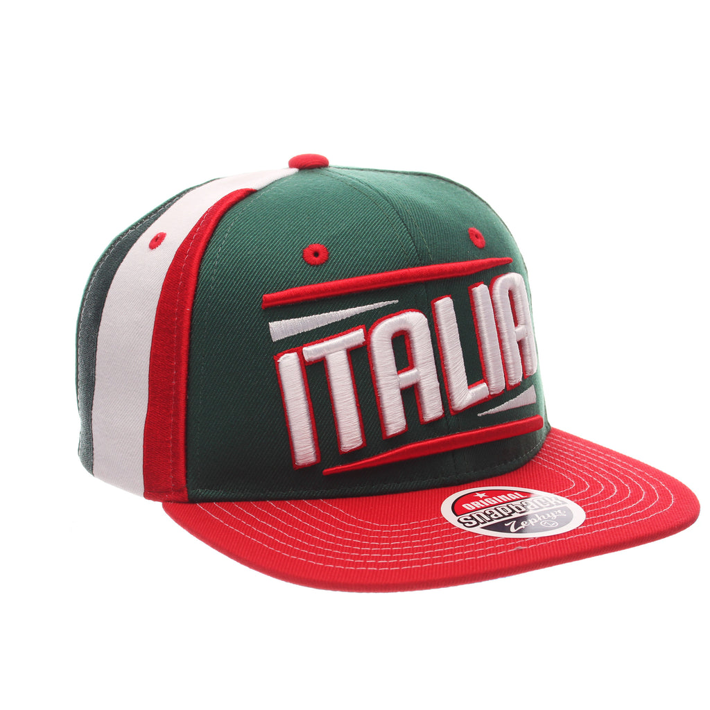 COUNTRY Victory 32/5 (High) (ITALIA W/LINES) Varied Colors Varied Panels Adjustable hats by Zephyr