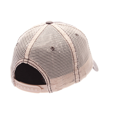 Dad Hat Standard (Low) (MILK & COOKIE) Gray Medium Washed Adjustable hats by Zephyr