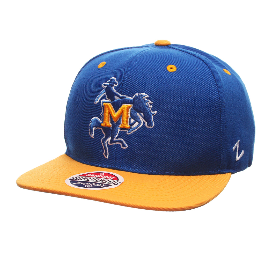 McNeese State University Z11 32/5 (High) (M W/COWBOY) Royal Surf Zwool Adjustable hats by Zephyr