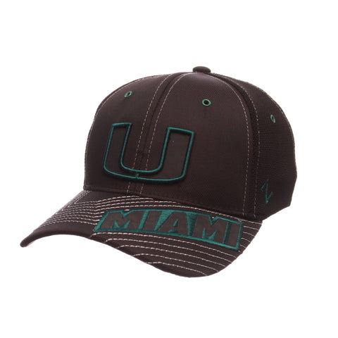 Miami Black Friday Slant Standard (Low) (SPLIT U) Varied Colors Varied Panels Stretch Fit hats by Zephyr
