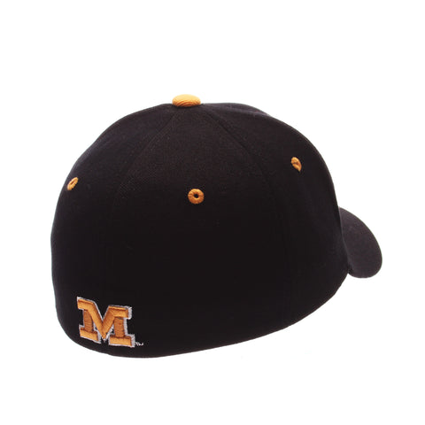 Missouri (Columbia) ZHS Standard (Low) (TIGER) Black Zwool Stretch Fit hats by Zephyr