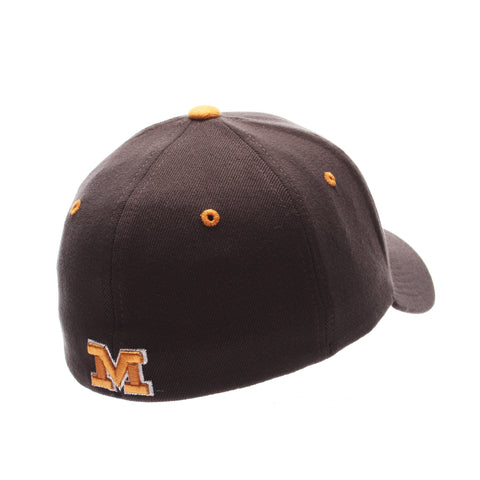 Missouri (Columbia) ZHS Standard (Low) (TIGER HEAD) Gray Confederate Zwool Stretch Fit hats by Zephyr