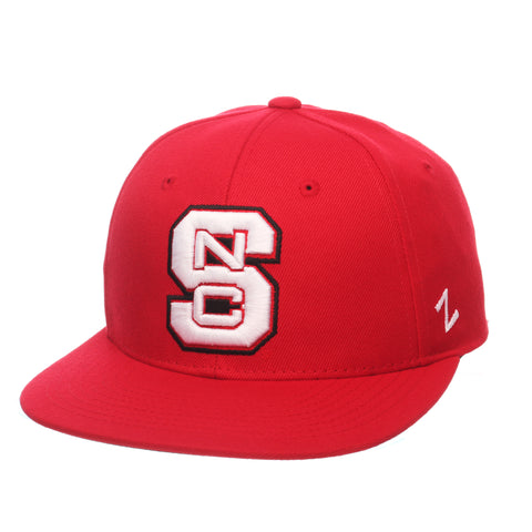 North Carolina State University M15 Mid (Medium) (SNC) Red ZClassic Fitted hats by Zephyr