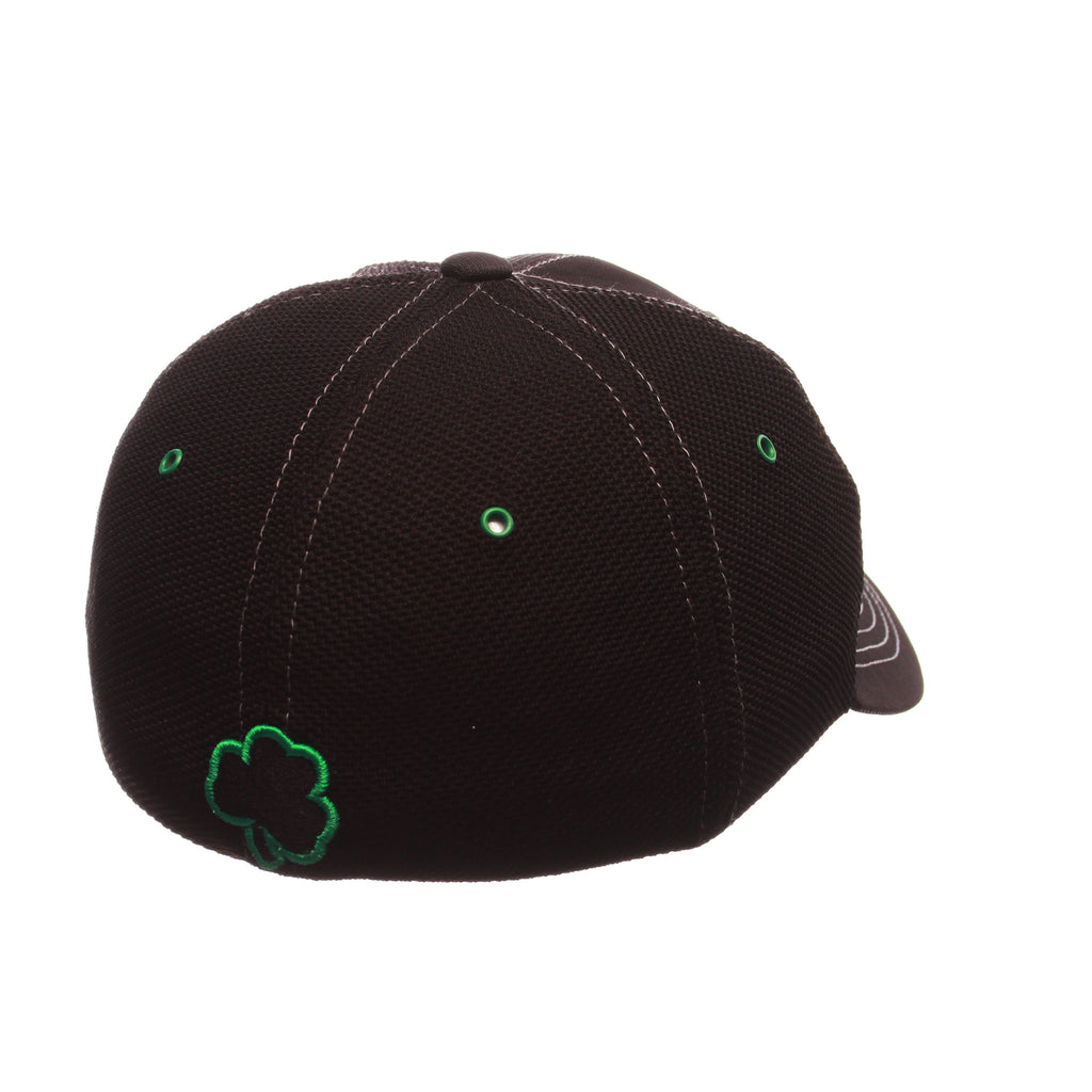 Notre Dame Black Friday Slant Standard (Low) (ND) Varied Colors Varied Panels Stretch Fit hats by Zephyr
