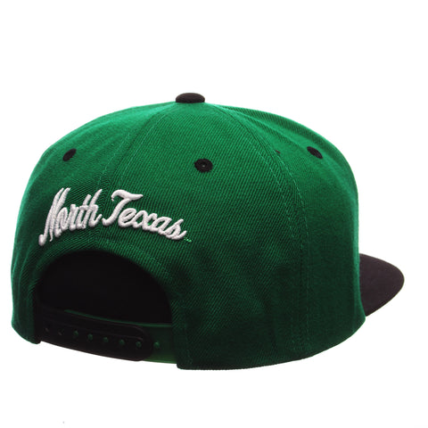 North Texas Z11 32/5 (High) (EAGLE) Green Kelly Zwool Adjustable hats by Zephyr