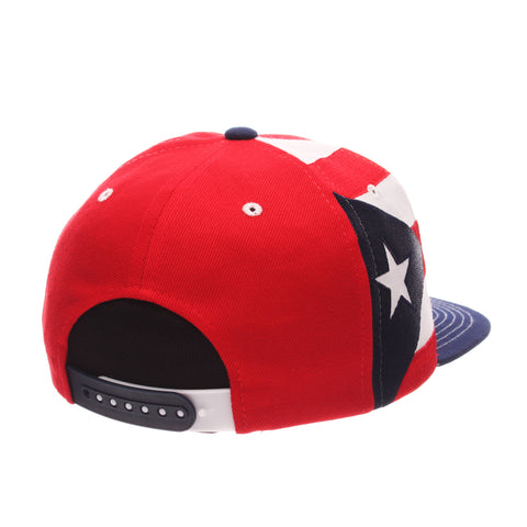 COUNTRY Victory 32/5 (High) (PUERTO RICO W/LINES) Varied Colors Varied Panels Adjustable hats by Zephyr