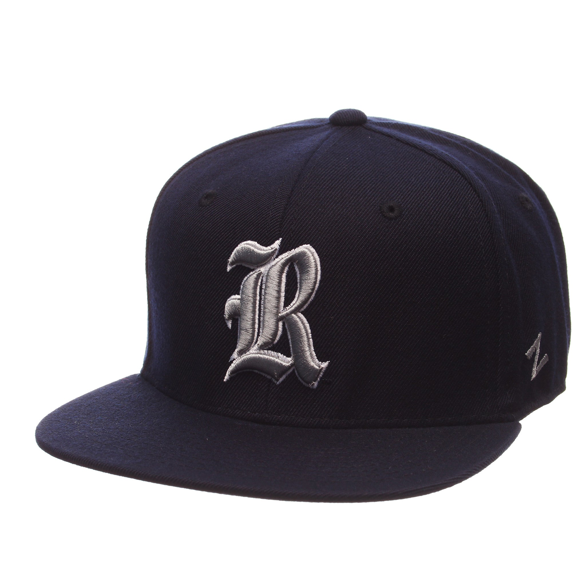 Rice University 93 32/5 (High) (R) Navy Dark Zwool Fitted hats by Zephyr