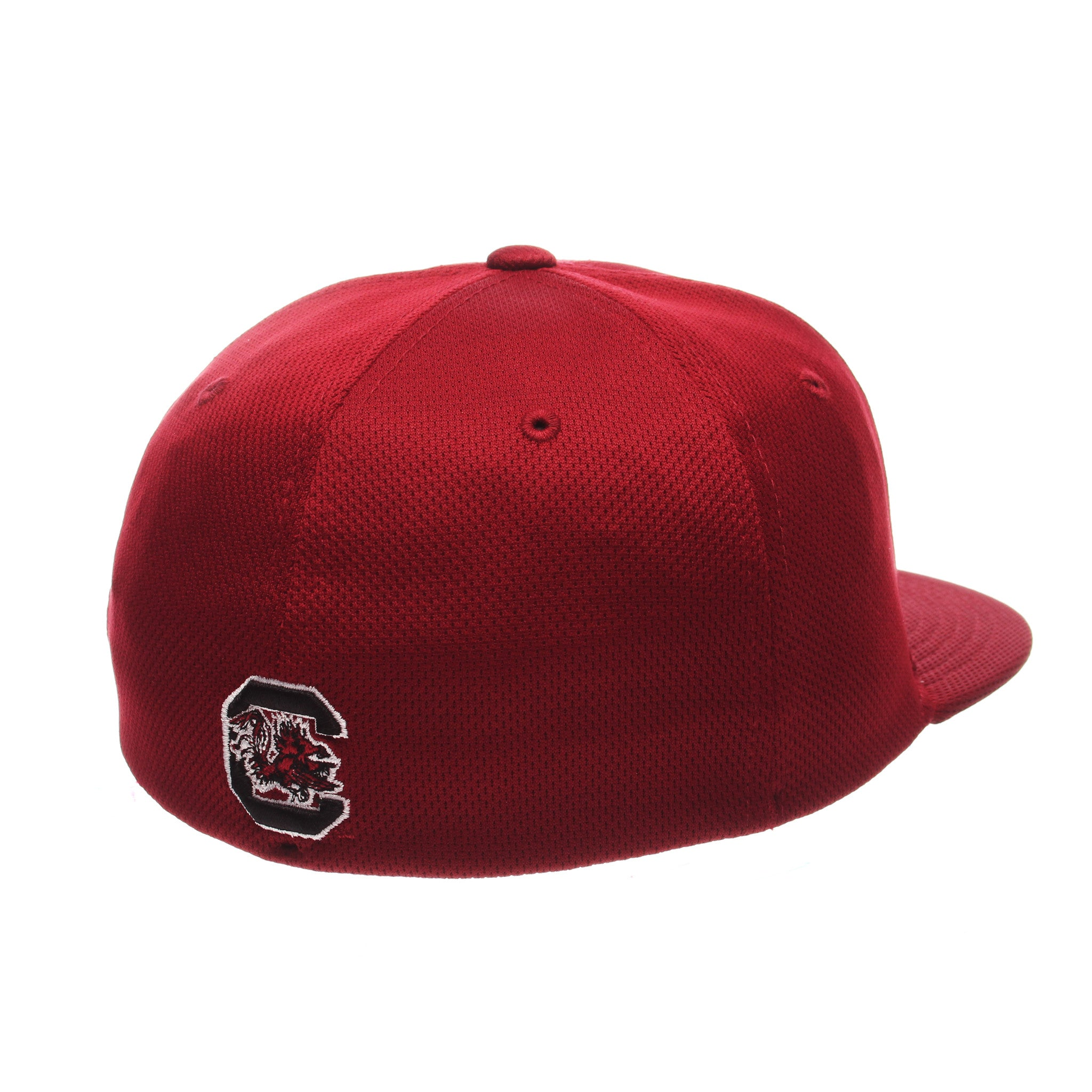 South Carolina Custom Zfit Mid (Medium) (BSBL SC) Cardinal Vapor Tech Stretch Fit hats by Zephyr