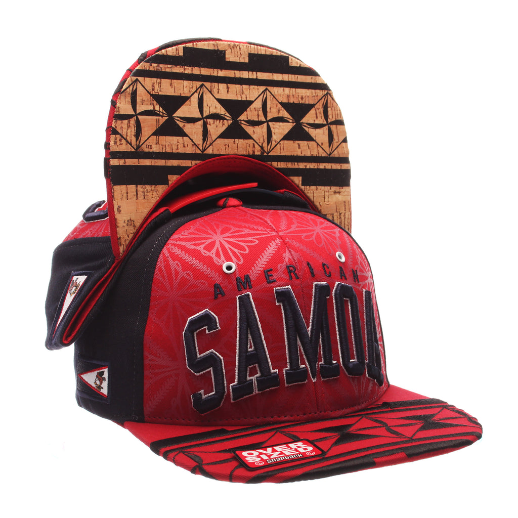 COUNTRY Custom 32/5 Oversized (SAMOA/ PATTERN) Varied Colors Varied Panels Adjustable hats by Zephyr