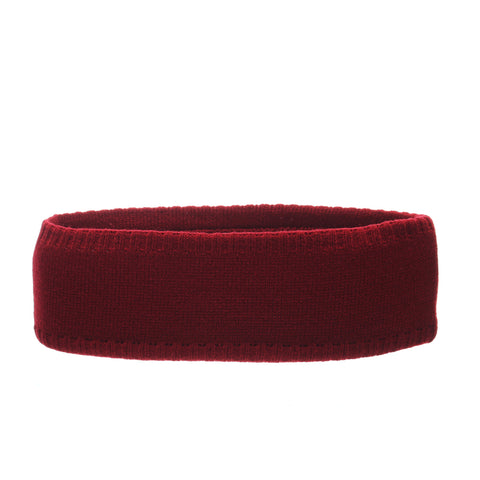 Stanford University Halo Headband (STANFORD) Cardinal/White Knit Adjustable hats by Zephyr