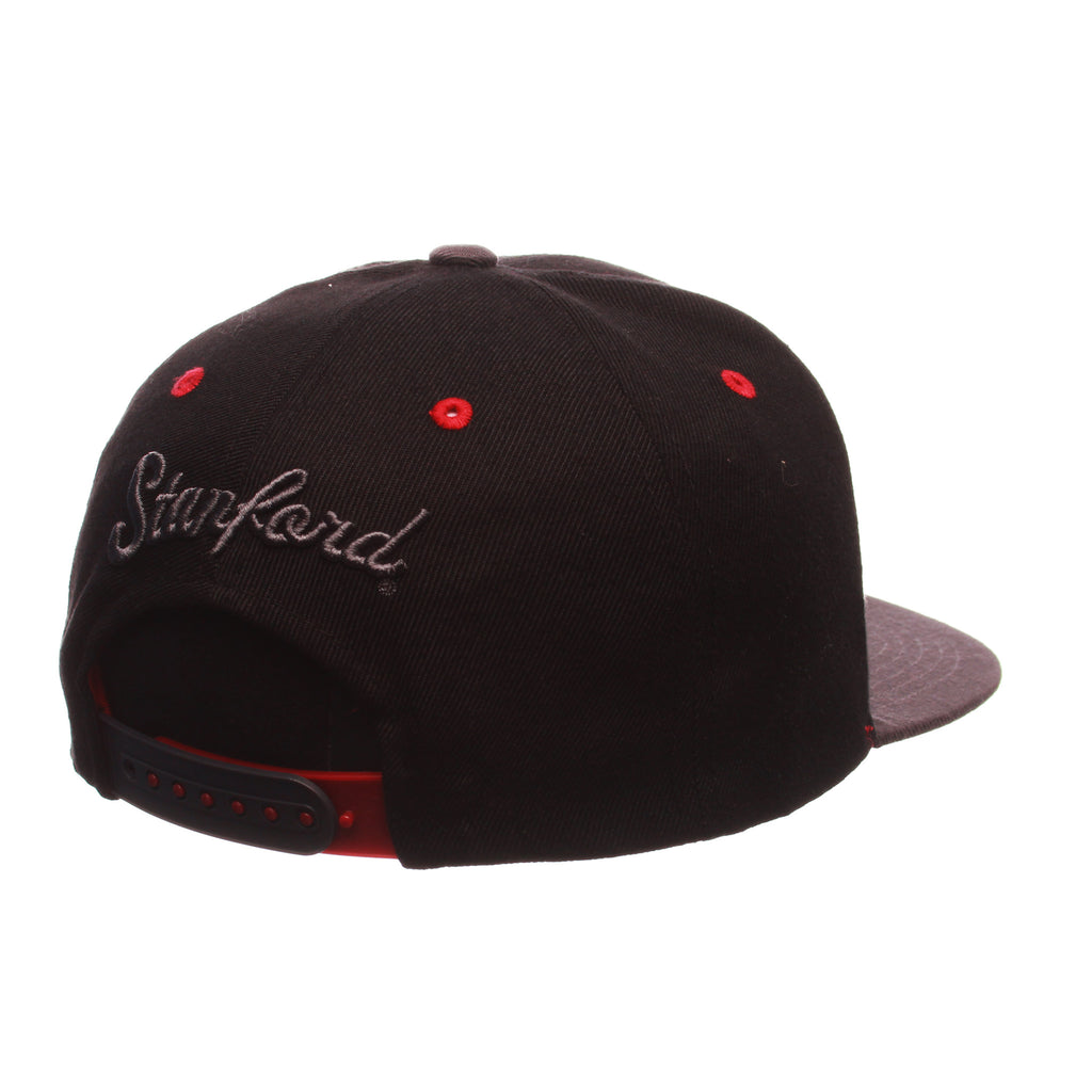 Stanford University Z11 Blackout 32/5 (High) (S W/TREE) Black Zwool Adjustable hats by Zephyr